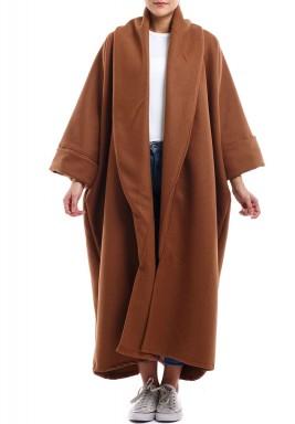 Brennan coat tan bisht