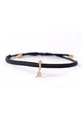 ALEF Diamond and 18-karat Gold Bracelet