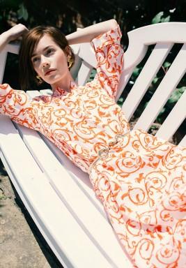 Birkin Printed Dress