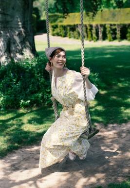 Lana Poplin Printed Dress