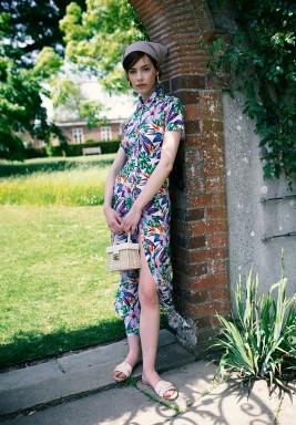 Michelle Printed Dress