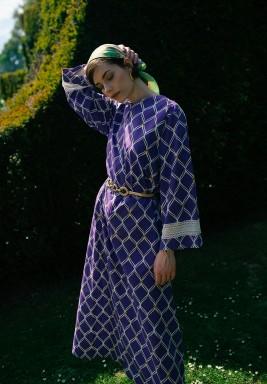 Elysse Printed Dress