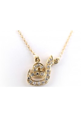 KAF Diamond and 18-karat Gold Necklace