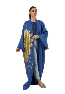 Daizy blue kimono