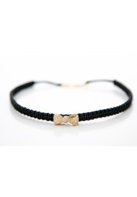 Bow Diamond Choker