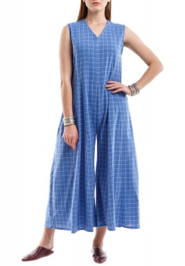 Blue bliss jumpsuit
