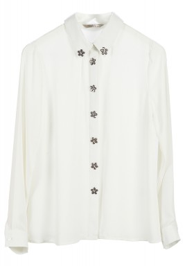 Floral stones shirt