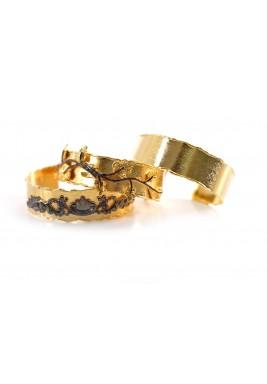 Vintage set of 3 bracelets