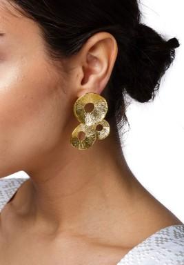 Coral Cirdes Earring