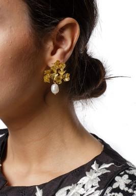 Flower Bouquet Earring