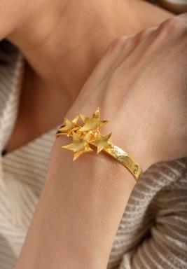 Golden stars bracelet