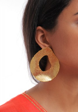 Gold Plated Oasis Earrings