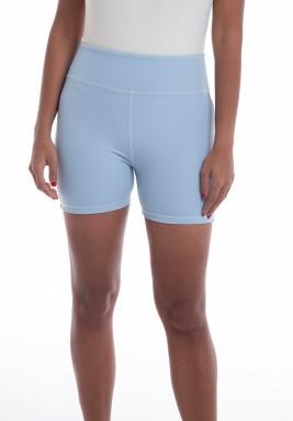 Blue Biker Shorts