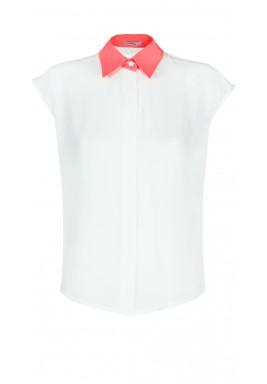 Neon collar shirt