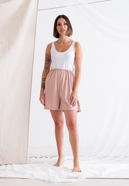 Nude Pink Shorts Lining