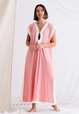 Pink Sleeveless Tunic