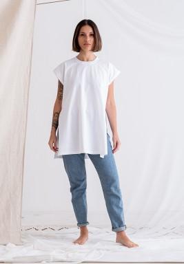 White Short Sleeves Tee