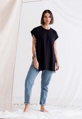 Black Short Sleeves Tee