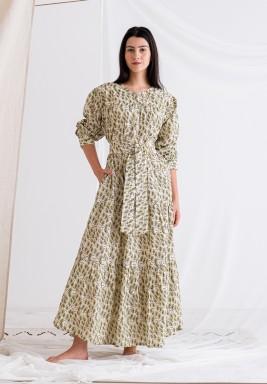 Offwhite Printed Dress