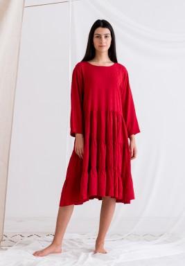 Not-So-Fuschia Dress