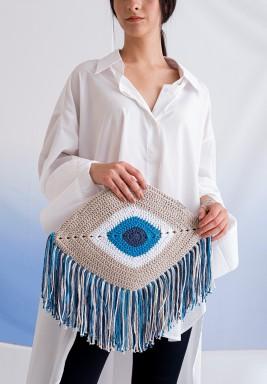 Blue Eye Bag W/o Handle