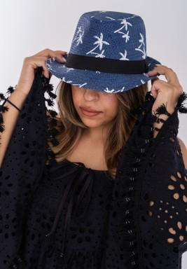 Blue Palms hat