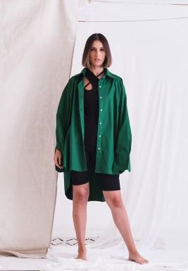 Green Oversized Shirt