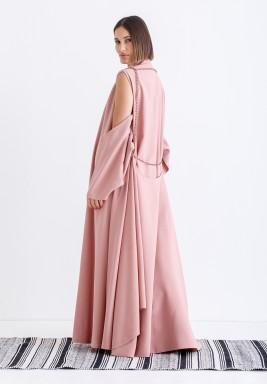 Pink chain kaftan
