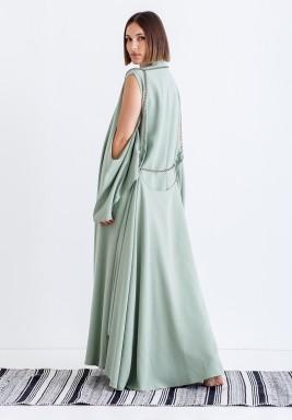 Tiffany Chain Open Sleeves Kaftan