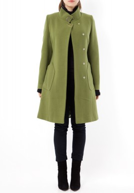 Noor Green Coat