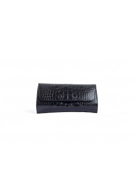 Gala Black Chain Strap Clutch