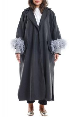 Odette grey coat