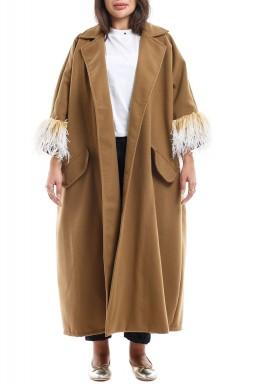 Odette beige coat