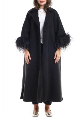 Odette black coat -Pre order