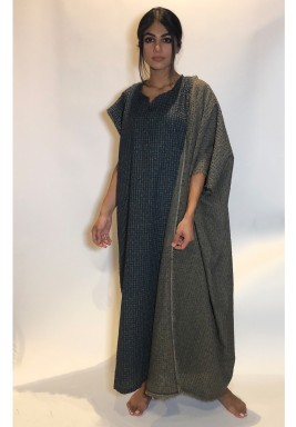Trio Back Attached Bisht Kaftan