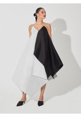 Black & White Geometrical Dress