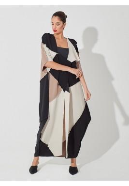 Geometric cut abaya
