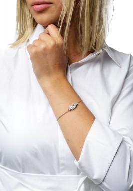 Chain Crystal Bracelet