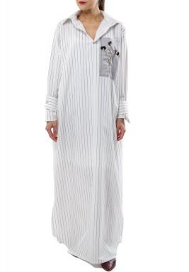 Shirt Maxi Dress Stright