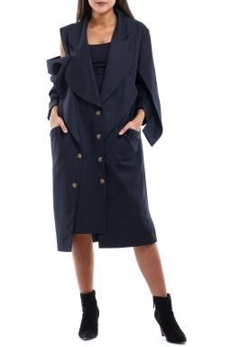 One Sleeve cut Blazer coat