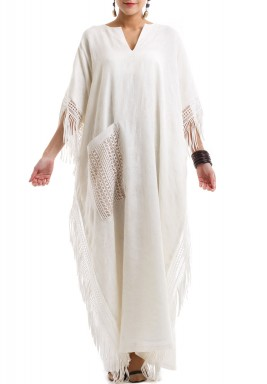 The Fringe & Pocket Kaftan