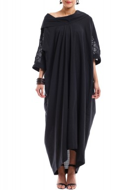 The Black Web Kaftan
