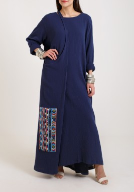 Waltz Navy Dress