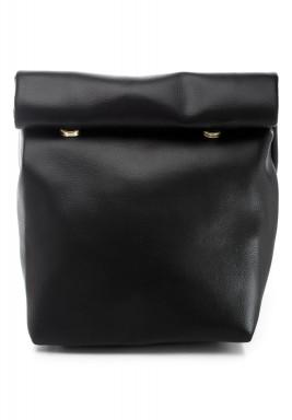 Plain Black Medium Warp Pouch