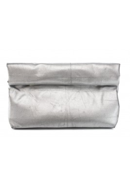 Silver Large Wrap Pouch