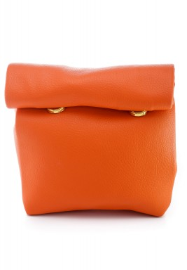 Orange Mini Warp Pouch