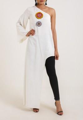 One sleeve top/dress