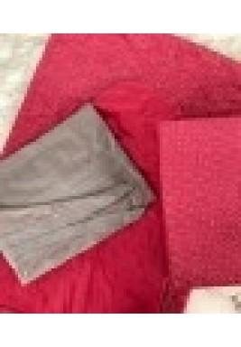 Velvet prayer set hot pink