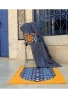 Moroccan Travel Prayer set- Navy