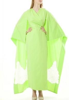 Kimono Green Dress